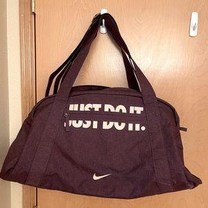 Purple Nike Gym Bag
